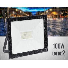 Projecteur LED 100w (Lot de 2 pièces)