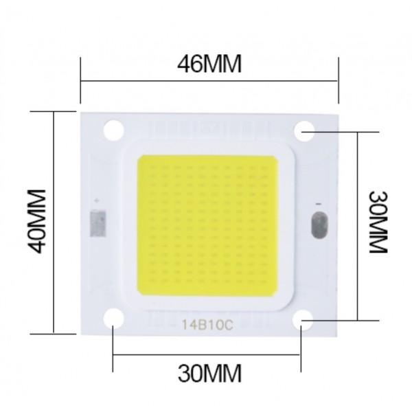 LED COB 100w (3K) Nouvelle génération
