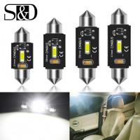 Ampoule LED voiture C5/C10W (3w) 31mm 36mm 39mm 41mm