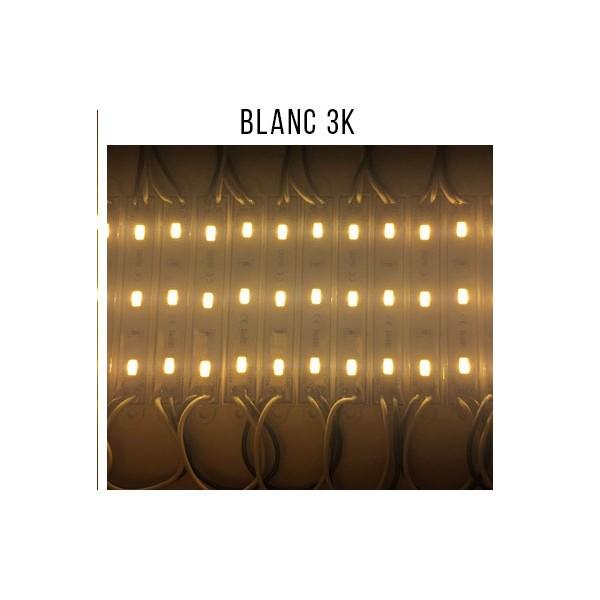 Eclairage pour enseigne à LED BLANC 3K- Chaine de modules LED (20 pièces)