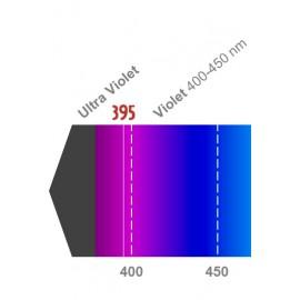 LED 3W - 395nm Violet