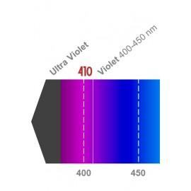 LED 3W 400-410nm Violet
