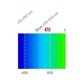 LED 3W - 470nm