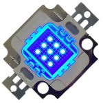 LED 10w BLEU de rechange (12v)