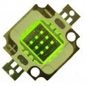 LED 10w VERTE de rechange (12v)