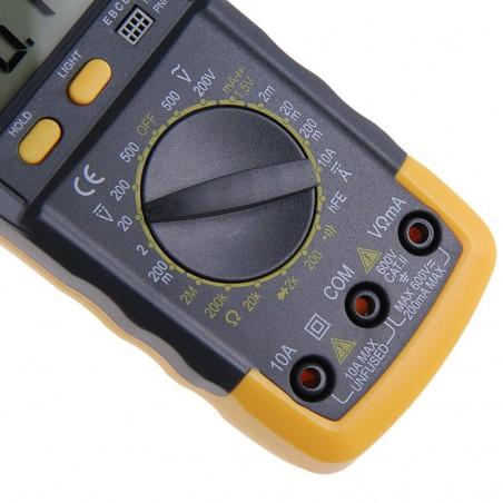 Multimètre numérique LCD