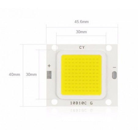 LED 70w de rechange (27-36v)
