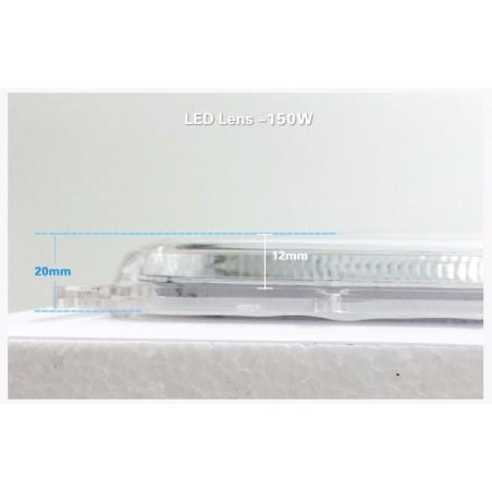 Lentille pour LED 120w et 120w Longue