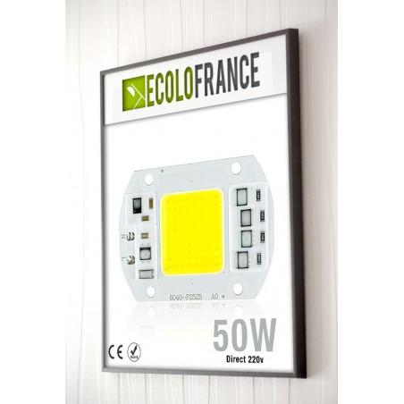 LED 50w direct 220v - 5000 Lumens