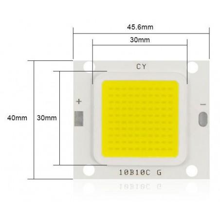 LED COB 50W (4K) Nouvelle génération