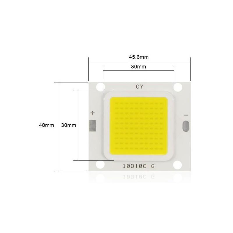 LED 50w de rechange (32-32v) 4000K