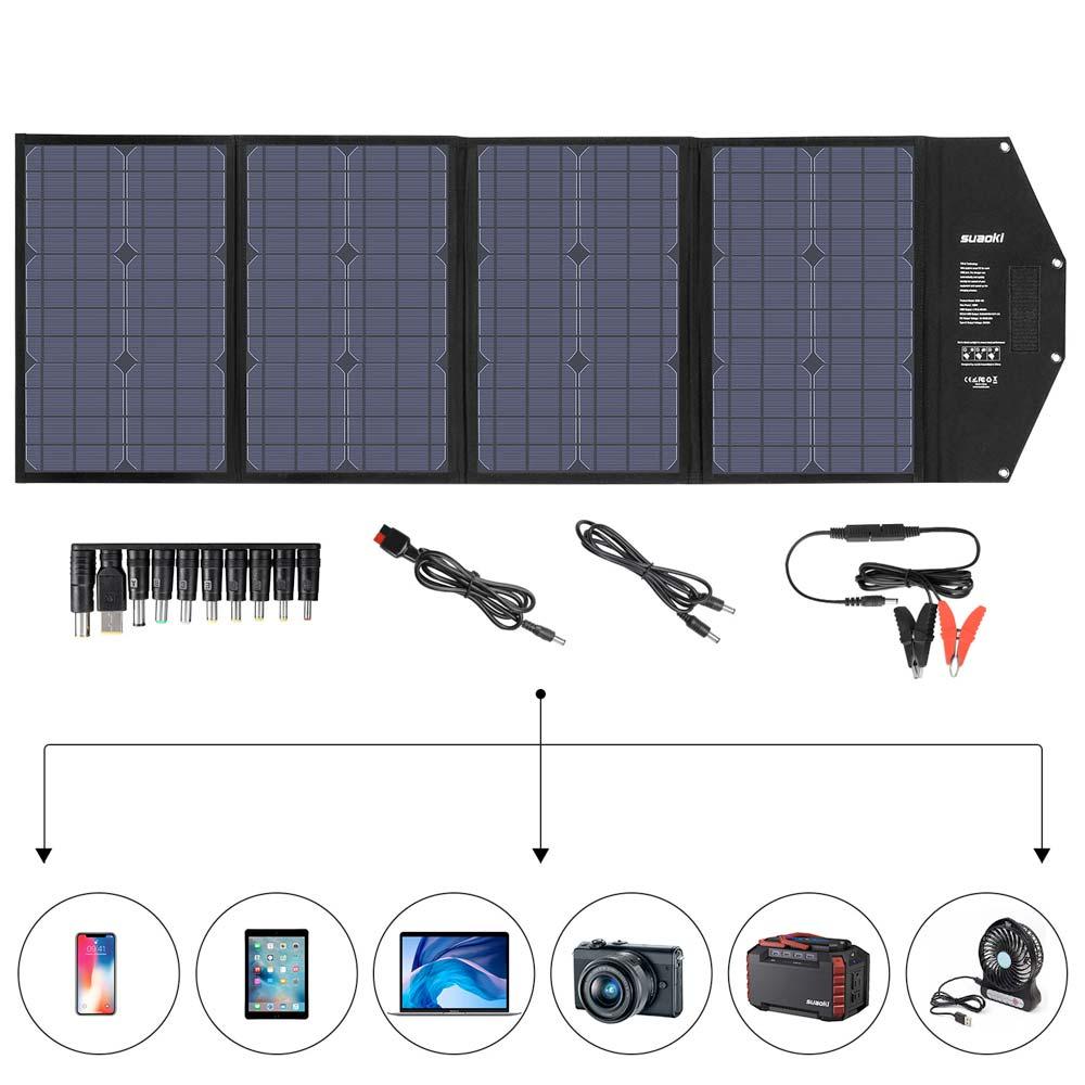 Panneau solaire 100w pliable et portable