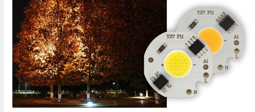 LED COB de 3w,5w,7w pour spot à LED en 220v