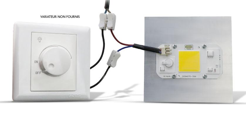 LED 50w diret 220v sans soudure