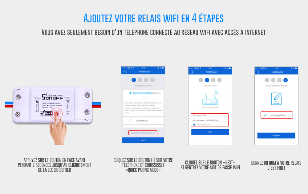 Relais WIFI basic