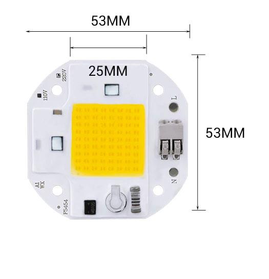 LED 100w 220v
