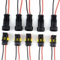 Connecteur Mâle/Femelle étanche - 10CM