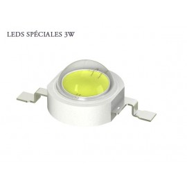 LED 3W - 20000k Blanc froid