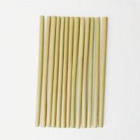 500 x pailles bambou réutilisables en 20cm (Avec brosse)