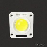 Base support LED 23mm plastique