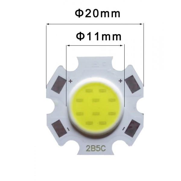 LED 11mm 3-5-7-10w