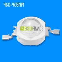 LED 1W 460-465nm 3.0-3.4 V / 600-700mA