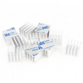 Radiateur aluminium 14x14x6mm