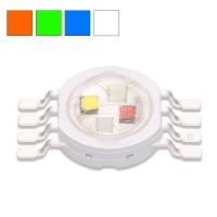 LED RGBW 4x1w 8 pins