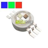 LED RGB 3x1w 6 pins