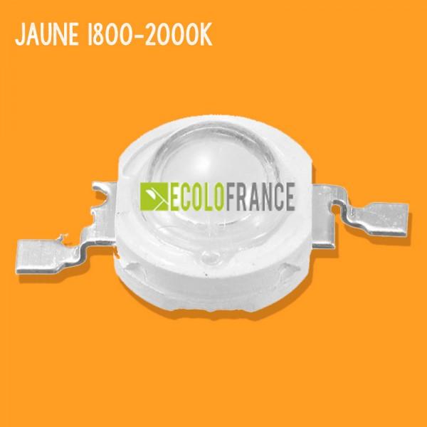 LED 1W Jaune 1800-2000K