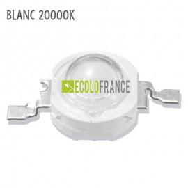 LED 1W BLANC 20000K 3.2-3.6 V