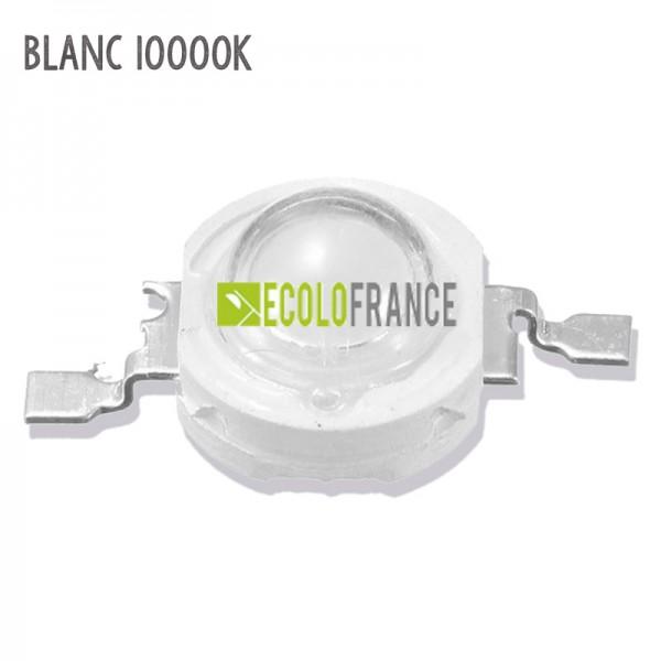 LED 1W BLANC 10000K 3.2-3.6 V