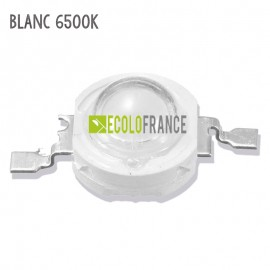 LED 1W BLANC 6500K 3.2-3.6 V