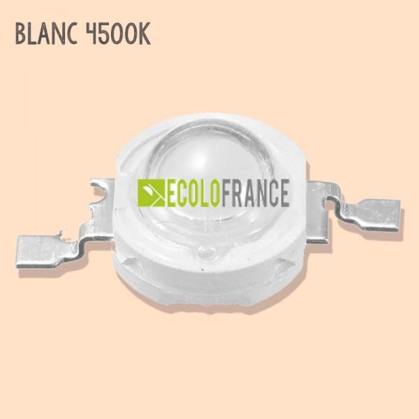 LED 1W BLANC 4500K 3.2-3.6 V