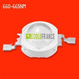 LED 5W 660-665NM