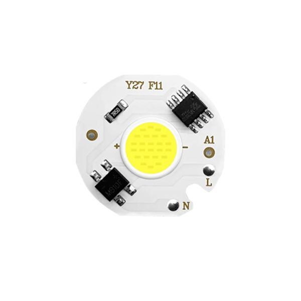 LED 5W - 27mm 220V (2800-3200K)