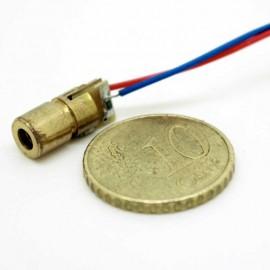 Tête laser 5mw rouge (650nm) 3V - 6mm