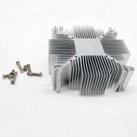 Radiateur aluminium 92x92mm (Pour led COB 70W /80W 90 /100W)
