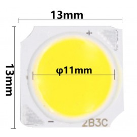 LED COB ic004 - 3w (13x13mm) - 4K