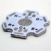 Circuit imprimé vierge pour LED RGB 1w,3w,5w