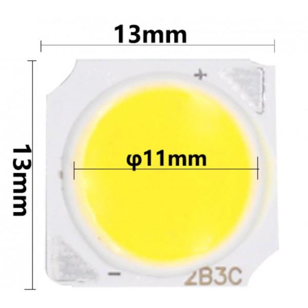 LED COB ic004 - 3w (13x13mm) - 4K