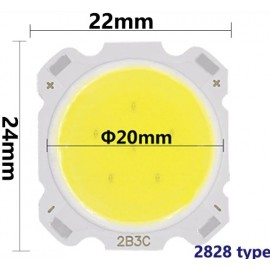 LED COB ic004 - 3w (22x24mm) - 4K