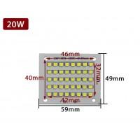 Plaque LED BT (20w - 30w - 50w)