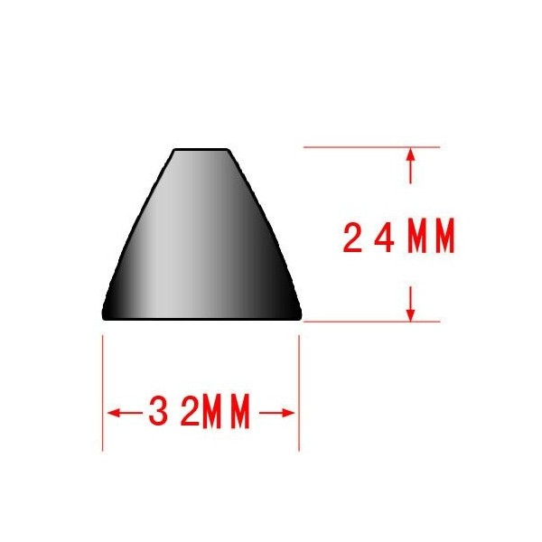 Réflecteur 32mm torche LED