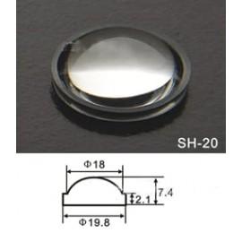 Lentille torche LED 20mm