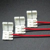 Connecteur bandeau led 2 pins avec fils
