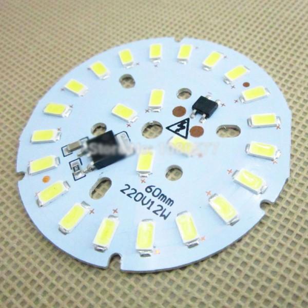 Plaque LED pour ampoule 12w - 220v - 3K