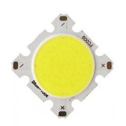 LED COB 30w ronde 23mm (6500k)