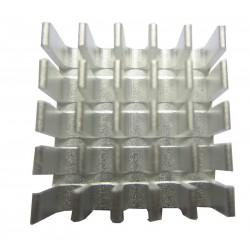 Radiateur aluminium 22x22x10mm