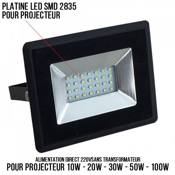 Platine LED pour projecteur